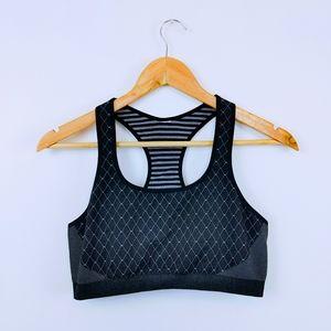 FABLETICS | Reversible Gray Sports Bra Size medium